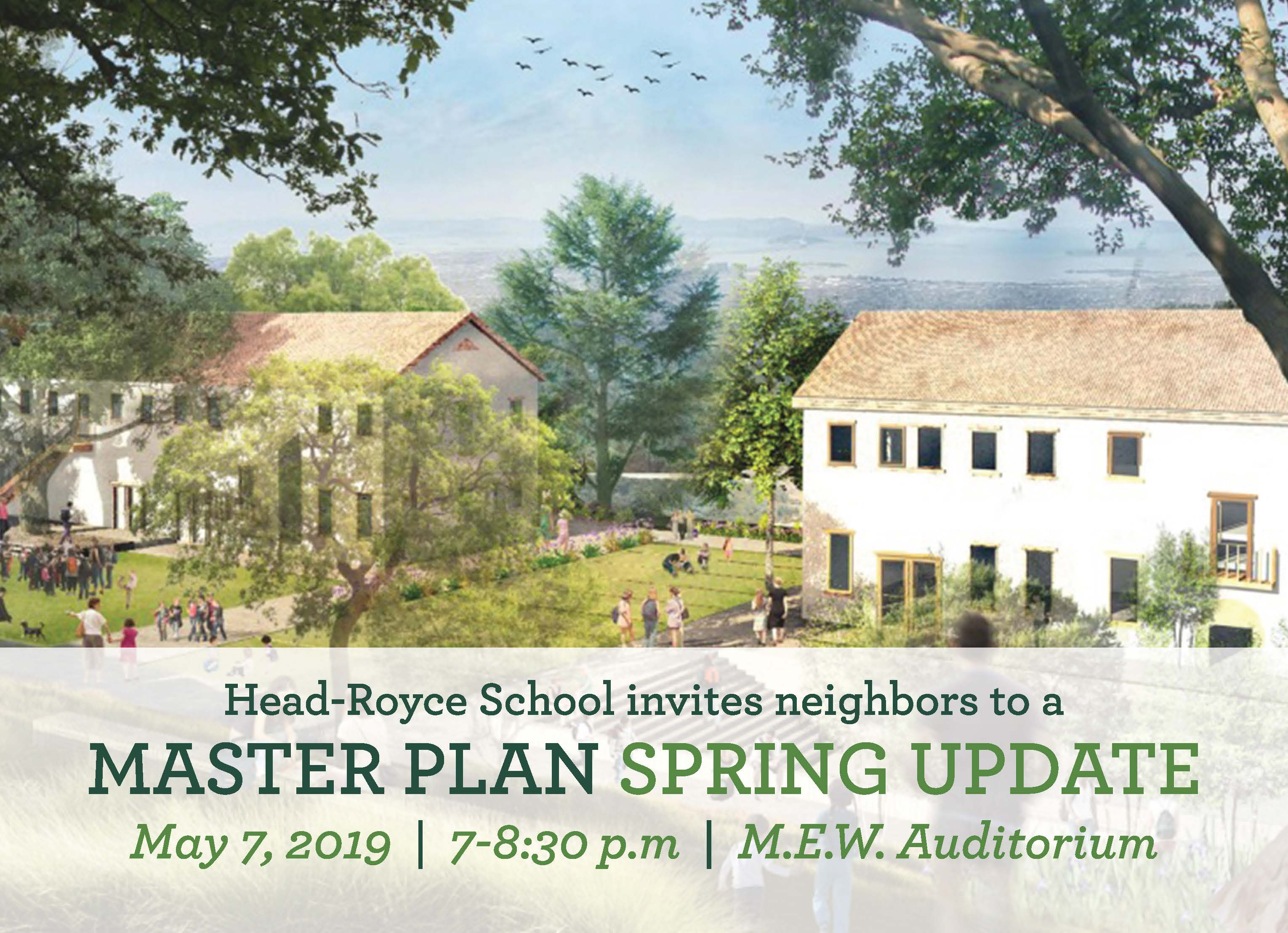 Neighborhood Meeting on May 7: Master Plan Spring Update