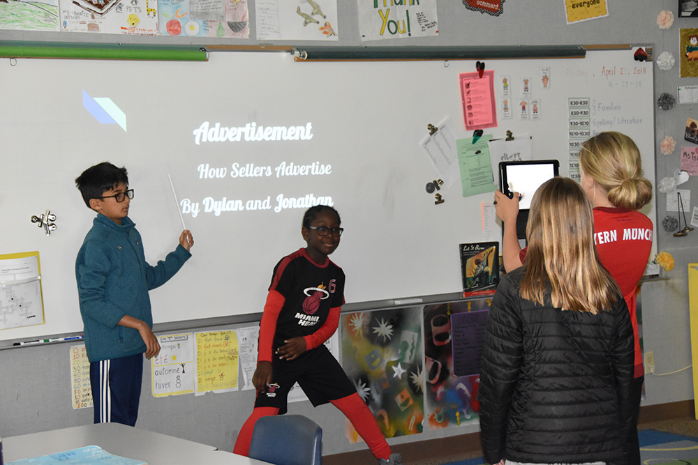 BALANCE & WELL-BEING: 4th Grade Creates PSAs to Raise Awareness