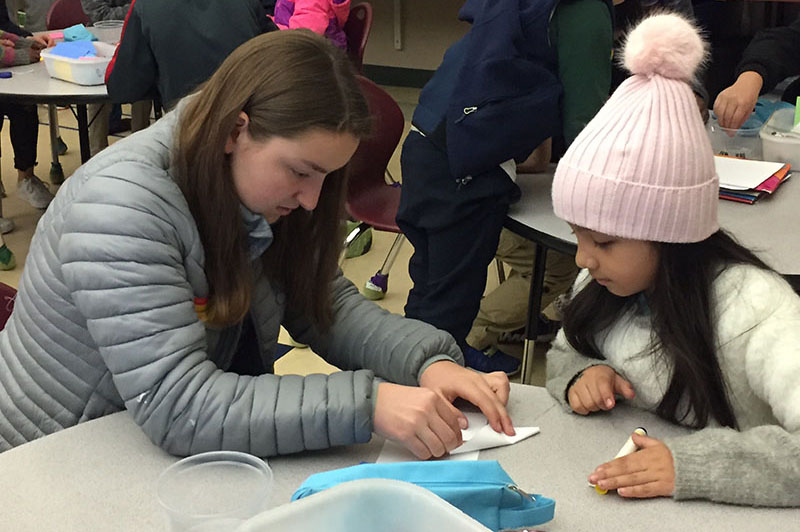 Civic Engagement: Middle Schoolers Prioritize Service