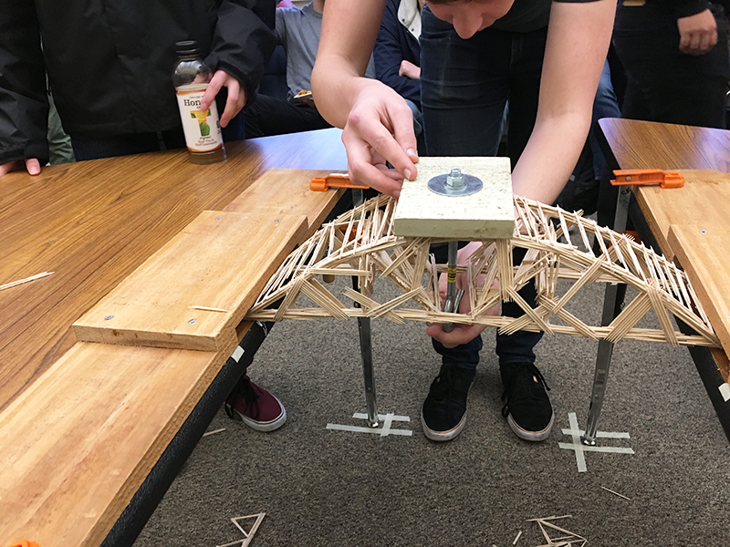 TEACHING & LEARNING: (VIDEO) The Rise (and fall) of Student-Built Bridges