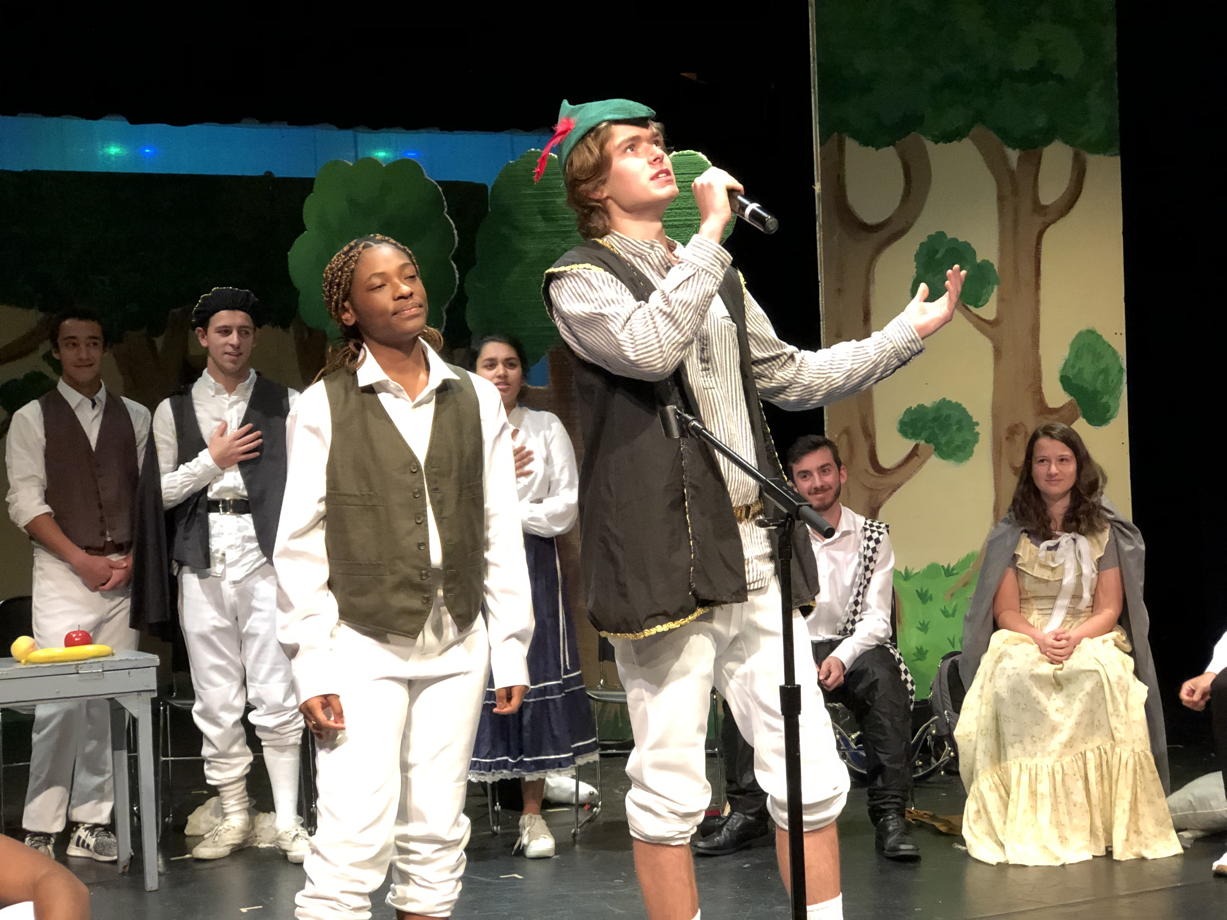 Upper School Students Stage Shakespeare
